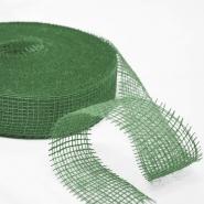 Juta, traka, 50 mm, 15427-6650, zelena
