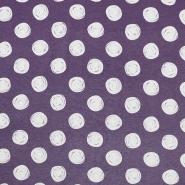 Jersey, Viskose, Punkte, 19711-013, violett