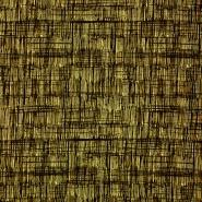 Jersey, Viskose, abstrakt, 19713-037, gelb