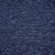 Prevešanka, kosmatena, melanž, 18758-007, temno modra