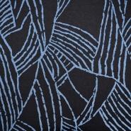 Pletivo, geometrijski, 19710-006, plava