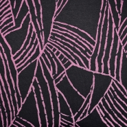 Pletivo, geometrijski, 19710-013, ružičasta
