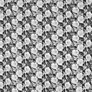 Pletivo, gosto, cvetlični, 19718-051, črno bela