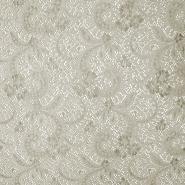 Spitze, elastisch, Ornament, 19725-052, beige