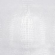 Umjetna koža Timsah, 19795-1, bijela