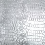 Umjetna koža Krokodil, 19797-3, srebrna