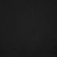 Pamuk, popelin, elastin, 19781-11, crna