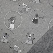 Pletivo, obostrano, dječji, 19826-265, siva