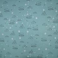 Jersey, Baumwolle, für Kinder, 19801-023, grün