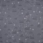 Jersey, Baumwolle, für Kinder, 19801-065, grau