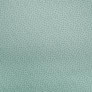 Pamuk, popelin, tisak, 19820-041, mint