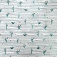 Bombaž, poplin, kaktusi, 19820-051