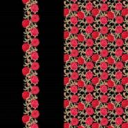 Jersey, bombaž, digital, cvetlični, 19832