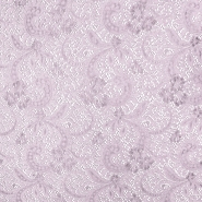 Spitze, elastisch, ornament, 19725-013, rosa