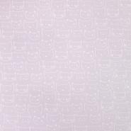 Flanell, Baumwolle, tierisch, 19876-012, rosa