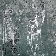 Krzno, umjetno, apstraktni, 19884-225, zelena