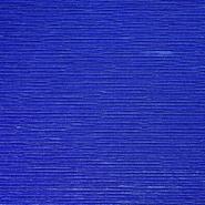 Saten, plise, 19885-650, plava