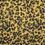 Chiffon, Kreppstoff, Polyester, tierisch, 19891-570