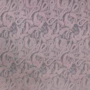 Pletivo, gusto, ornamentni, 19892-820, ružičasta