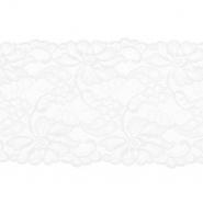 Spitze, elastisch, 150mm, 19976-31385, weiß