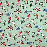 Jersey, pamuk, dječji, 19931-001, mint