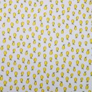 Bombaž, poplin, sadje, 19932-005, bež