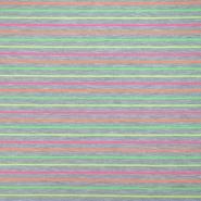 Jersey, bombaž, črte, 19941-001, siva
