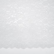 Čipka, cvjetni, 19967-016, bijela