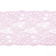 Spitze, elastisch, 150mm, 19976-31376, rosa
