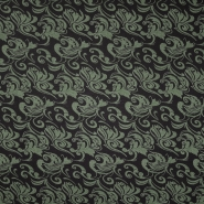 Pletivo, gusto, ornamentni, 19998-026, zelena