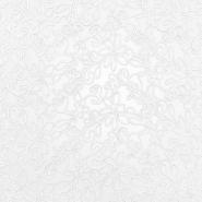 Spitze, elastisch, floral, 20017-050, weiß