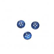 Gumb, srajčni, 19285-020, temno modra