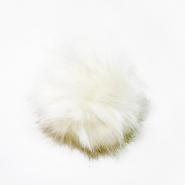 Cof, umetno krzno, 15cm, 18889-001, smetana