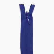 Reißverschluss, versteckt, 22cm, 18297-625, blau