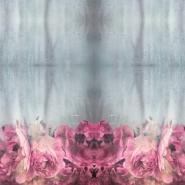 Jersey, bombaž, digital, cvetlični, 20006-10