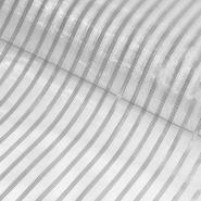 Organza, Streifen, 20007-1