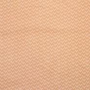 Pamuk, popelin, tisak, 20056-2, žuta