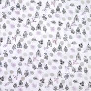 Pamuk, popelin, tisak, 20067-3, boja vrhnja