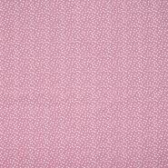 Pamuk, popelin, točkice, 20088-014, ružičasta