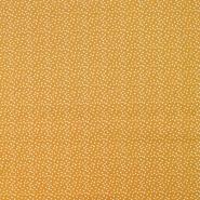 Pamuk, popelin, točkice, 20088-034, žuta