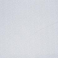 Pamuk, popelin, točkice, 20088-061, siva