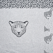 Wirkware, dicht, Tiere, 20098-021, grau