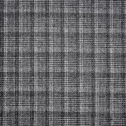 Vuna, kostimska, kare, 20108-2, crno-bijela - Svijet metraže