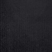 Samt, Baumwolle, 20129, schwarz