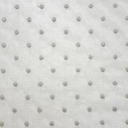 Netz, elastisch, Punkte, 20128-3, beige