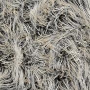 Krzno, umjetno, dugodlako, 20134-69, zeleno-bež