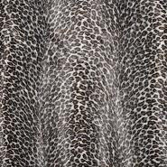 Kunstpelz, gepard, kurzhaar, 20134-71