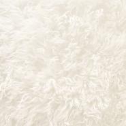 Krzno, umjetno, dugodlako, 20134-97, krem