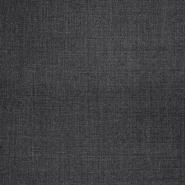 Wolle, für Anzüge, 20137-65, dunkelgrau