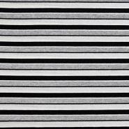 Wirkware, Streifen, 20143-15, schwarz-grau